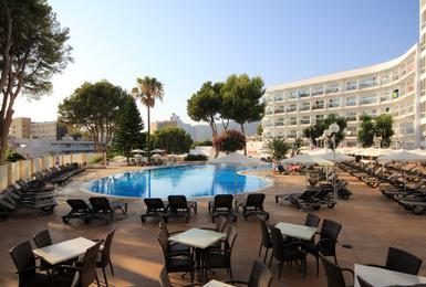 Terraça Hotel AluaSun Torrenova Palmanova, Mallorca